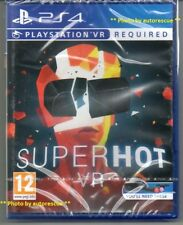 SUPERHOT  VR   {PS VR REQUIRED} 'New & Sealed'  *PS4(Four)*