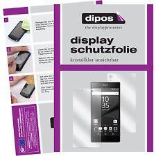 6x Sony Xperia Z5 Premium Schutzfolie klar Displayschutzfolie Folie dipos