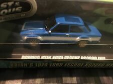 GREENLIGHT 1:43 Fast and Furious - Brians 1974 Ford Escort RS2000 MK1