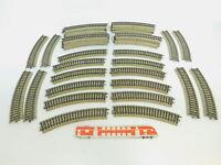 BN633-2# 40x Märklin H0/AC 5100 Gleisstück/Schiene gebogen M-Gleis sehr gut