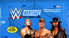 [HOBBY BOX] 2015 Topps WWE HERITAGE WRESTLING Factory Sealed  24 PACKS
