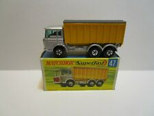 VINTAGE  MATCHBOX SUPERFAST NO.47 DAF TIPPER CONTAINER TRUCK  ***NEW IN BOX***