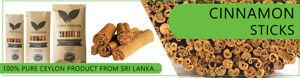 Ceylon Organic True Cinnamon Sticks / Quills Alba grade. NOT CASSIA, - 50g