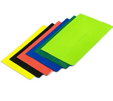 FoolScap Coloured Wallets Files Office School Documents Envelope Folder Set of 6