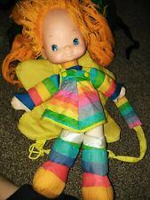 Rainbow Brite Doll Backpack vintage