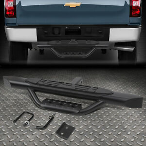 "FOR 2"" RECEIVER TRUCK BED HEAVY DUTY SEEL 3.75""OD OVAL TOW HITCH STEP BAR"