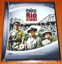 EL PUENTE SOBRE EL RIO KWAI / THE BRIDGE ON THE RIVER KWAI - DVD R2 - DVD+ LIBRO