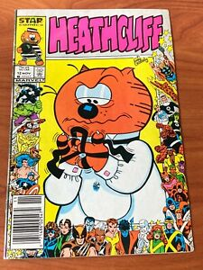 Heathcliff #12 Marvel Comics 25th Anniversary cover 1986 VG