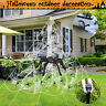 Halloween Spider Giant Garden Spiders Web With Ground Stakes Party Decoration