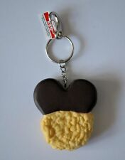 Mickey Mouse Rice Crispy Treat Food Keychain Disney World Theme Parks Nwt