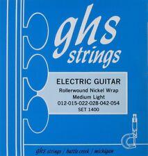 GHS Electric Nickel Rockers Guitar Strings String Set Medium Light 12-54 wound G