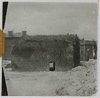 Francia Torre Fissaggio Foto Stereo PL46Th1n4 Placca Da Lente Vintage C1925