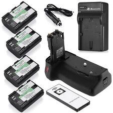 Battery Grip for CANON EOS 60D BG-E9 DSLR Camera + 4 x LP-E6 Batteries + Charger