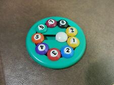 Binary Arts Diamond Bob's Billiard 9 Ball Brain Teaser Handheld Numbers Puzzle