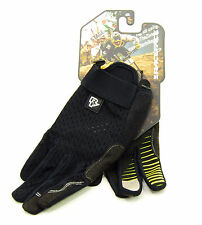 Race Face STAGE Full Finger Cycling Gloves, Black, Size Large