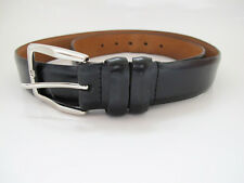 Johnston & Murphy Original Classic Mens Leather Belt Black
