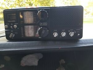 Realistic DX 200 Short wave radio SW AM CW/SSB Ham receiver