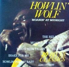 Howlin Wolf : Moanin at midnight-20 blues classics CD FREE Shipping, Save £s