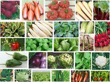 Gemüse Samen Mega-pack für Ihren kompletten Gemüsegarten 28 Gemüsesorten