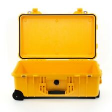 Peli case 1510 trolley sin espuma, amarillo | protección maleta, foto maleta | * nuevo *