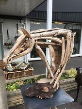 Impressive Drift wood horse head , Horse Head sculpture Unique , Driftwood art