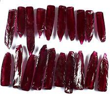 Ruby Corrundum Gemstone Rough Lot 2500 Ct AGSL Certified Dark Red Mozambique