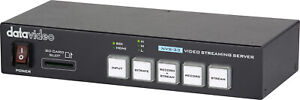 Datavideo NVS-33 H.264 Video Streaming Encoder and Recorder  FREE Shipping