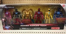 2017 Power Rangers The Movie Target Exclusive Power Rangers Team Metallic Color!