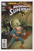 Adventures of Superman #645 (Dec 2005, DC) Infinite Crisis Lex Luthor Omac Weir
