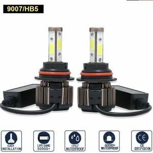 CANBUS 9007 HB5 LED Headlight Bulbs 6500K High Low Beam Car Light 720000LM 2PCS