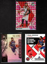 PAUL GEORGE 3 DIFFERENT 2019-20 CARDS LOS ANGELES CLIPPERS