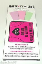 Hard Candy 150 Sheets Oil Blotting Paper in Custom Paper Compact Nip