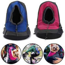 Puppy Backpack Carrier Pet Dog Cat Kitten Front Travel Double Sling Shoulder bag