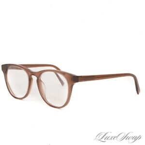 LNWOB Warby Parker Smoked Mocha Brown Bell 261 MODERN Scholarly Glasses Frames
