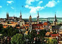 Bamberg - Vierkirchenblick , Ansichtskarte , 1986 gelaufen