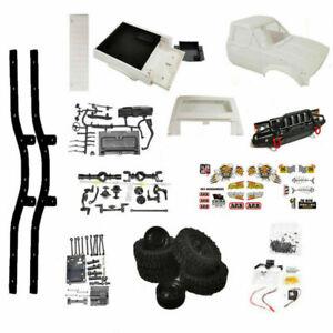 WPL C24-1K 1/16 RC Car DIY Kit 4WD Remote Control Crawler Off Road Truck Toys