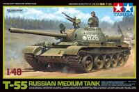 Tamiya 32598 1/48 Scale Military Model Kit Russian Medium Tank T-55