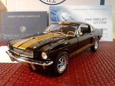 FRANKLIN MINT 1966 MUSTANG SHELBY GT350H..1:24..MIB..LE #264..DOCS..STUNNING