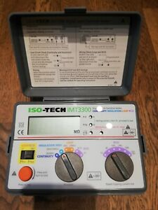 ISO-TECH IMT3300 DIGITAL MULTI FUNCTION TESTER CONTINUITY INSULATION LOOP RCD
