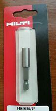 Hilti 50mm bit holder, Makita, Dewalt, bosch,  1st class post, Fast post