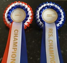 Champion & Reserve Champion Rosette Pack, For Any Event