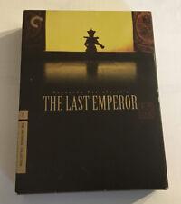 The Last Emperor (Dvd, 2008, 4-Disc Set, Criterion) Bernardo Bertolucci