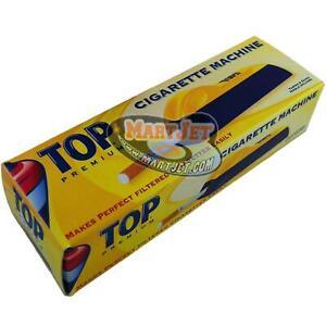 TOP Premium King Size Cigarette Maker Roller Tobacco Tube Injector Machine Short