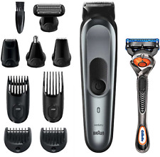 Braun 10 in 1 styling kit Trimmer Barber Hair Clippers All in One Shave & Trim