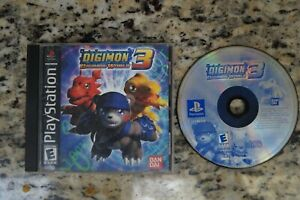 Digimon World 3 (Sony PlayStation 1, 2002) * Complete *