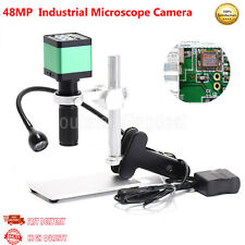48mp Industrial Microscope Camera Microscope Magnifier With 120x C Mount Lens