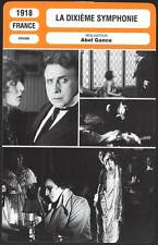 LA DIXIEME SYMPHONIE - Abel Gance (Fiche Cinéma) 1918 - The Tenth Symphony