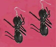 Huge Funky GIANT ANT EARRINGS Picnic Bug Summer Party Insect Gag Costume Jewelry