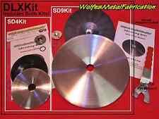 """""""Easy Shrink"""" Shrinking Disc DELUXE Kit 9 & 4.5"""" & WRENCH english wheel shrinker"""