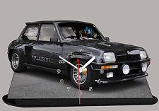 MINIATURE, MODELL CARS,  RENAULT 5 TURBO 2 -08 en horloge